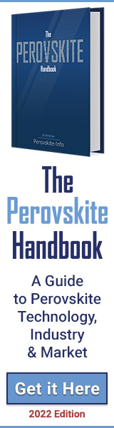 The Perovskite Handbook ad